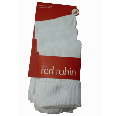 Girls 3 Pack Socks