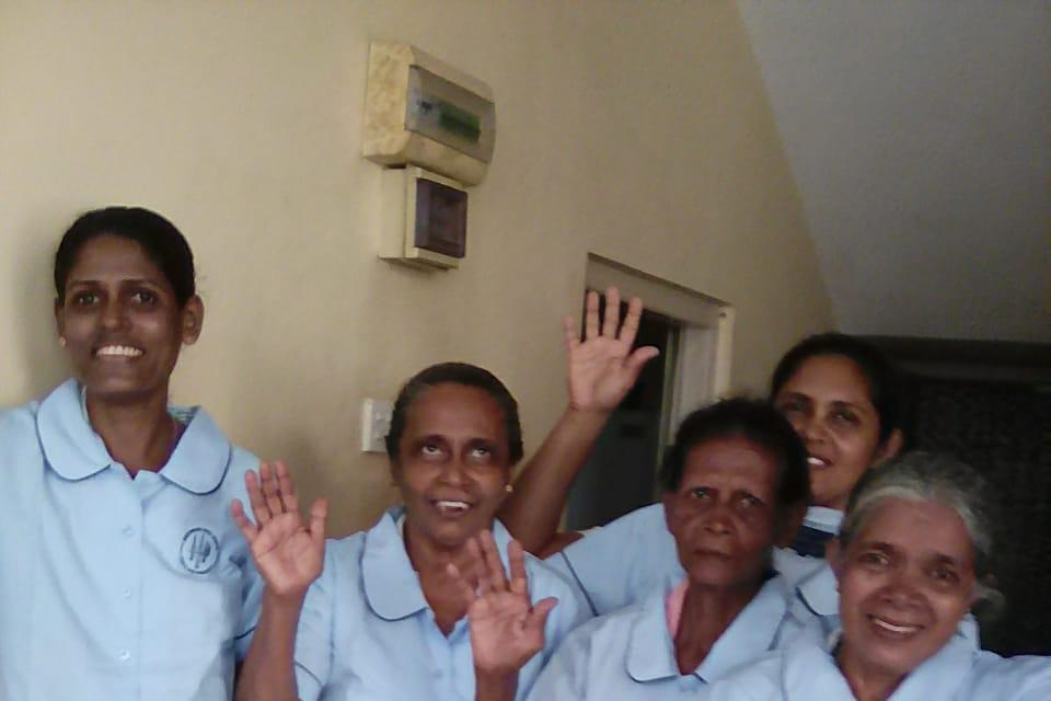 """ Yeronga's Donation Of Obsolete Uniforms Uniforms Provide Happiness To Our Friends In Sri Lanka"""